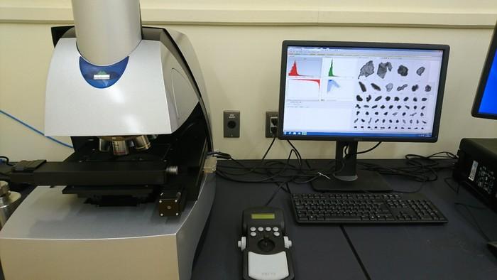 画像解析式粒径分布測定装置の画像1