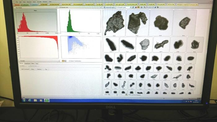 画像解析式粒径分布測定装置の画像3